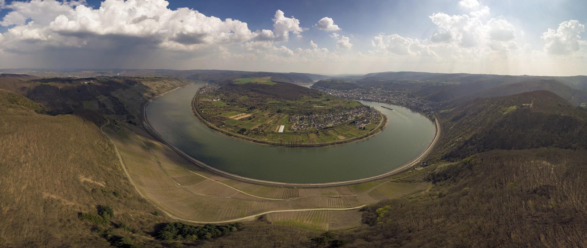 Landschaftsfotografie Panorama Rheinland Drohne