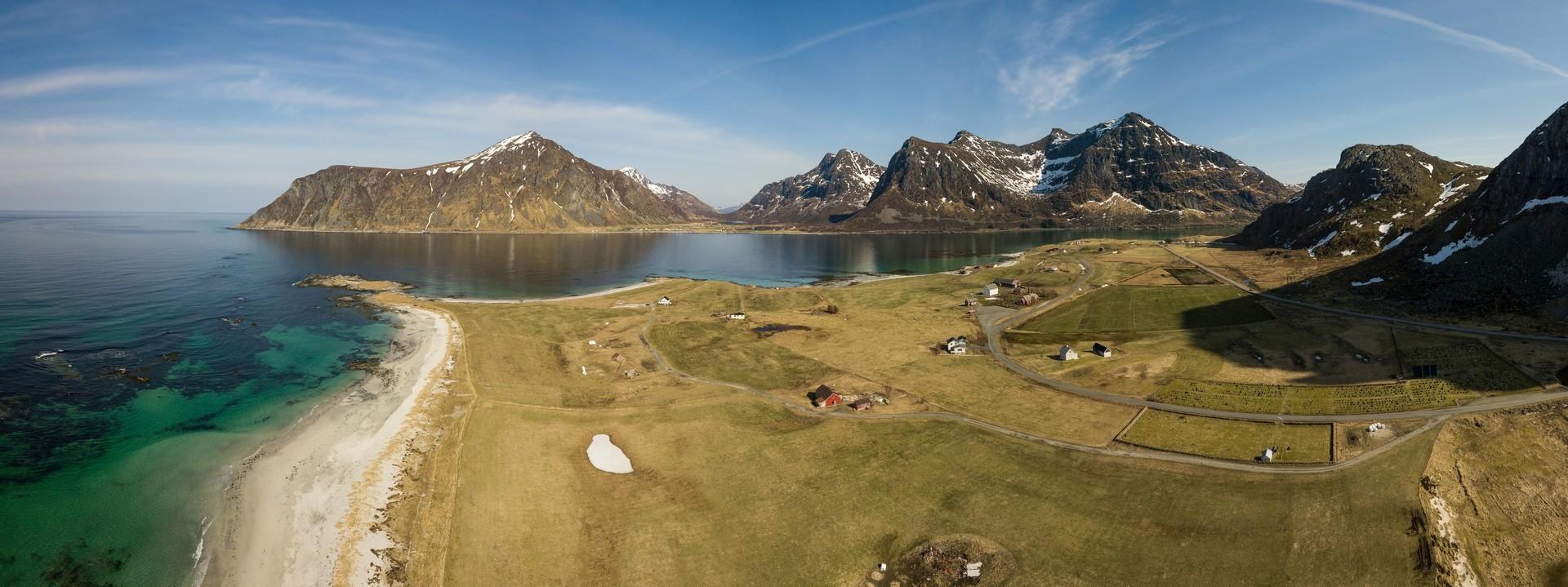 Panoramaaufnahmen Drohne Luftbild Tourismus Marketing