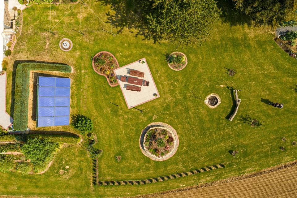 Gewerblicher Immobilienfotograf Drohne Expose