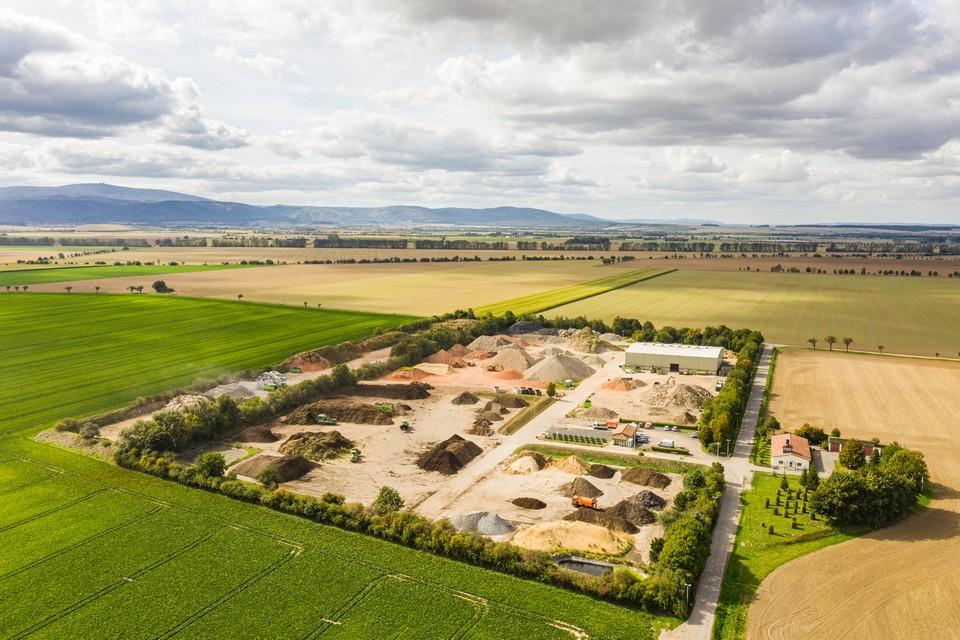 Luftbildfotografie Drohne Industrie Gewerbe